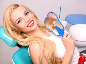 Чистка зубов Троещина